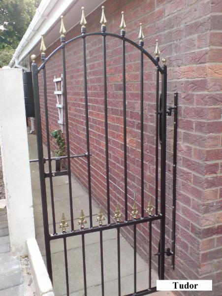 Side Gates Security Gates Www Tudorwroughtiron Com